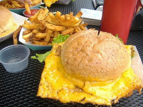 The Squeeze Inn...what I'd have to do if I ate like this all the time!