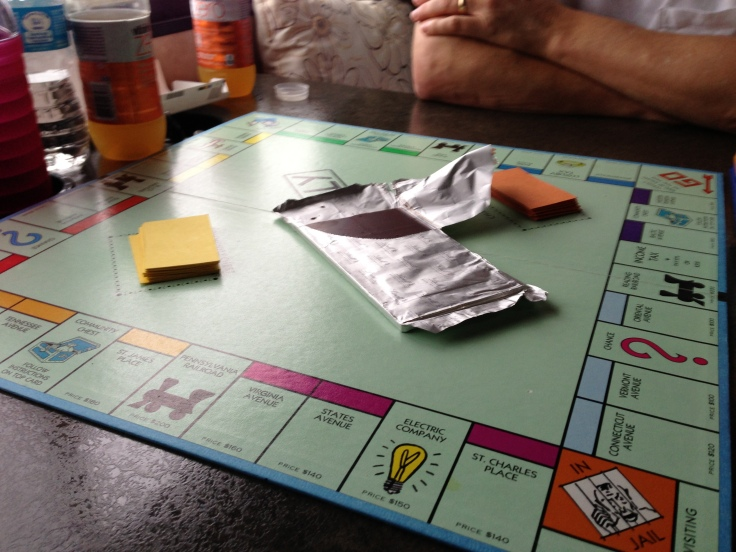 Monopoly at Half Moon Bay State Beach