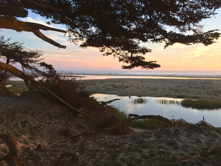 Pismo Beach at twilight
