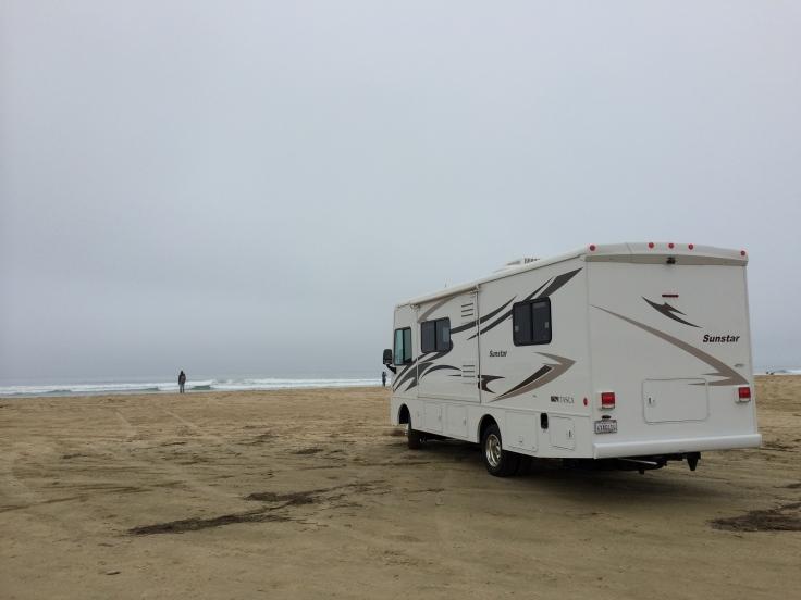 Breakfast on Pismo Beach