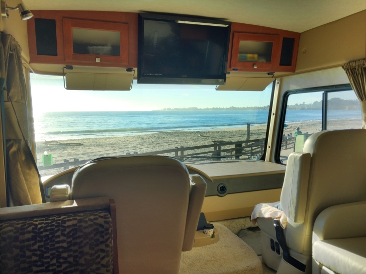 View from the RV
