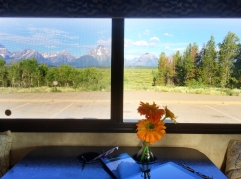 View of the Grand Tetons from the BWB
