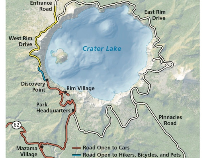 CraterLakeMap